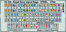 Vlajková abeceda Royal Navy OCEL 1/700