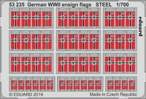 German WWII ensign flags STEEL 1/700