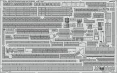 USS CV-10 Yorktown záchranné sítě a zábradlí 1/350