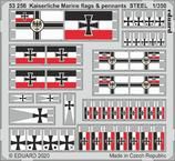 Kaiserlische Marine флаги и знамена, сталь 1/350