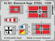 Bismarck flags STEEL 1/350