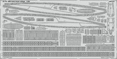SMS Szent István railings 1/350