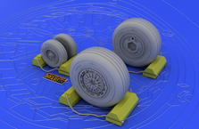 F-4C/D/E/F/G wheels 1/32