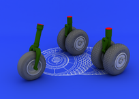 He 219 wheels  1/32 1/32
