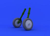 Bf 109G-6 wheels 1/32
