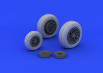 F-104 undercarriage wheels late  1/32 1/32