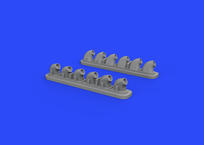 P-40E exhaust stacks 1/32