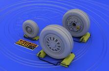 F-16 late wheels 1/48