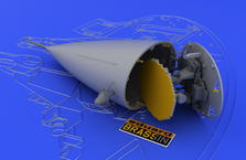 F-16 radar raná verze 1/48