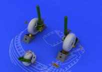 Су-27 колеса 1/48