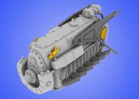 DB 601 A/N engine 1/48