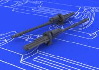 MG 17 Немецкие пулеметы 2 мир. в. 1/48