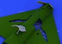 MiG-21 brzdící štíty pozdní verze 1/48
