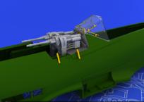MG 131 lafeta pro Fw 190D-9 1/48