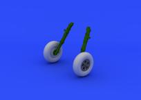Spitfire Mk.V wheels 1/48