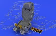 MiG-21MFN ejection seat 1/48