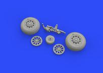 P-51D wheels 1/48