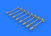 British Rocket Projectiles RP-3 60lb S.A.P. 1/48