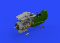Bf 109G-6 engine 1/48