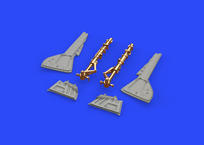 Fw 190A-5 undercarriage legs BRONZE 1/48