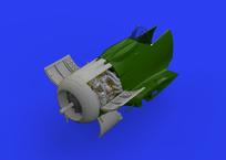 Fw 190A-8 двигатель 1/48