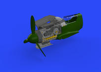 Bf 109G-10/U4 engine 1/48