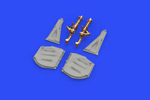 P-51D undercarriage legs BRONZE 1/48