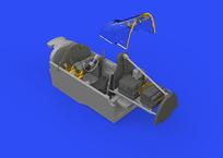 P-38G кабина 1/48