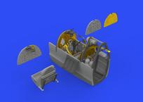 Spitfire Mk.I kokpit 1/48