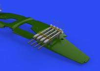 RP-3 60lb rockets for Tempest Mk.II 1/48