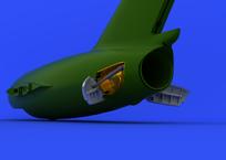 МиГ-15бис воздушный тормоз 1/72