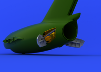 MiG-15bis brzdící štíty 1/72