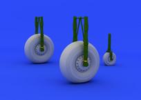 Lancaster wheels 1/72