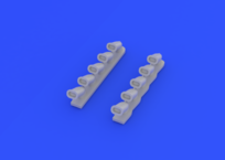 Il-2 exhaust stacks 1/72