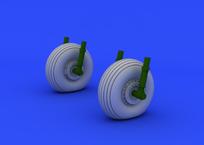 C-47 wheels 1/72