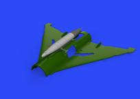 SPS-141 ECM контейнер для МиГ-21 1/72