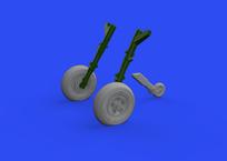 Spitfire Mk.Vc wheels 1/72