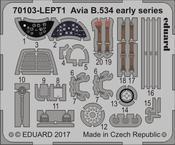 Avia B-534 early series  PE-set 1/72
