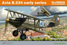 Avia B-534 ранняя серия DUAL COMBO 1/72