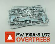 Fw 190A-8  OVERTREES 1/72 1/72