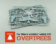 Fw 190A-8 w/ early wings  OVERTREES 1/72 1/72