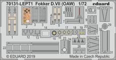 Fokker D.VII (OAW) фототравление 1/72