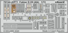 Fokker D.VII (Alb) PE-set 1/72