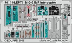 MiG-21MF インターセプター エッチングパーツセット 1/72