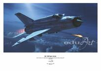 Poster - MiG-21MF fighter-bomber