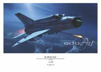 Плакат - МиГ-21МФ Истребитель-Бомбардировщик