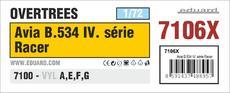 Avia B.534 IV. serie Racer OVERTREES 1/72