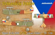 Fokker D.VII Library Edition 1/72