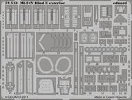Mi-24V Hind E экстерьер 1/72