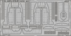 Halifax B Mk.III exterior 1/72